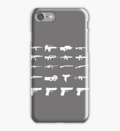 Guns iPhone Case/Skin
