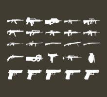 Guns by jessiejade95