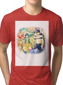 Magi the labyrinth of magic - Aladdin&Judal Tri-blend T-Shirt