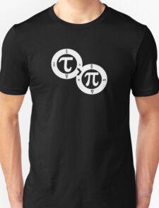 Tau vs Pi (dark) T-Shirt