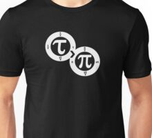 Tau vs Pi (dark) Unisex T-Shirt