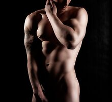 43127 Male Art Nude by PrairieVisions