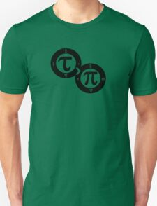 Tau vs Pi Unisex T-Shirt