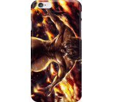 Eren Titan Shingeki No Kyojin Case iPhone Case/Skin