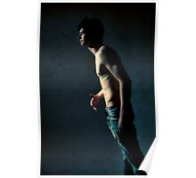 43823 Male Figure Study Poster
