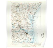 USGS TOPO Map New Hampshire NH Exeter 460047 1932 62500 Poster