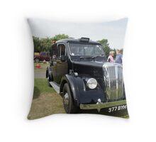 Daimler 1957 Vintage Car Throw Pillow