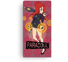 Skullgirls - Parasoul Canvas Print