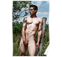 44801 Male Art Nude Poster