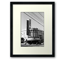 Alexandria Theater Framed Print