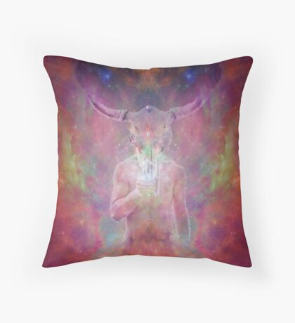 Fiery-gate Throw Pillow