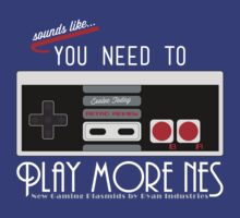 Evolve Today! Play More NES T-Shirt