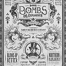 Legend of Zelda Barnes Bombs Vintage Ad by barrettbiggers