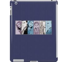 Agents of S.H.I.E.L.D. Line Up- Version 2 iPad Case/Skin