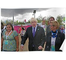 Boris Johnson at the National Paralympic day  Poster