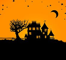 Jack O Lantern Manor by thedustyphoenix