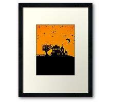 Jack O Lantern Manor Framed Print