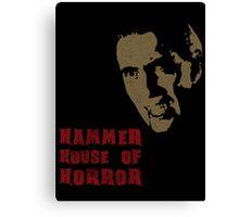 Hammer House of Horror Canvas Print