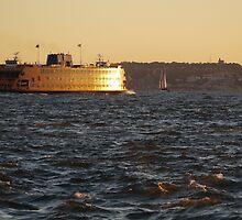 Staten Island Ferry by Aldo Shaltiel