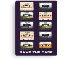 Save the tape Canvas Print