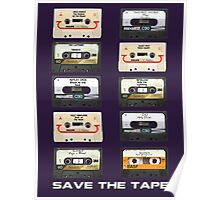 Save the tape Poster