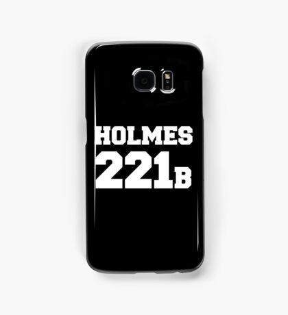 Sherlock - Team Holmes (white text) Samsung Galaxy Case/Skin