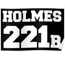 Sherlock - Team Holmes (white text) Poster