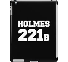 Sherlock - Team Holmes (white text) iPad Case/Skin