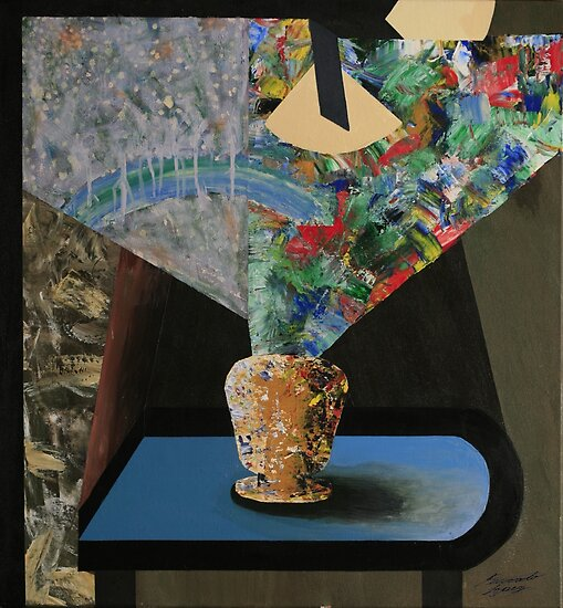 Vase on Table Study by Ricardo Lopez