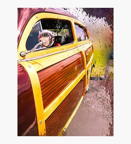 Load Your Board in the Woody Photographic Print