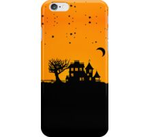Jack O Lantern Manor iPhone Case/Skin