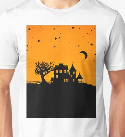 Jack O Lantern Manor Unisex T-Shirt