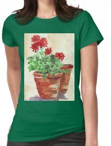 Geranium or Pelargonium? Womens Fitted T-Shirt