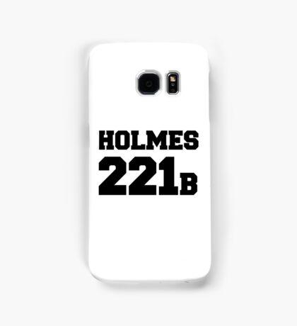 Sherlock - Team Holmes (black text) Samsung Galaxy Case/Skin