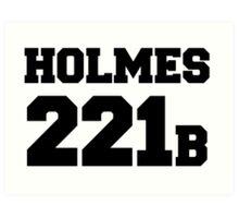 Sherlock - Team Holmes (black text) Art Print