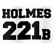 Sherlock - Team Holmes (black text) Poster
