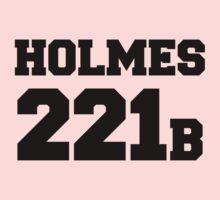 Sherlock - Team Holmes (black text) Kids Tee