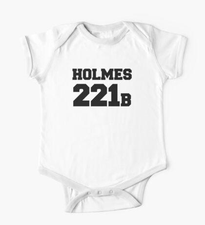 Sherlock - Team Holmes (black text) One Piece - Short Sleeve