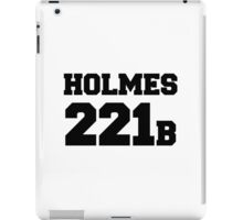 Sherlock - Team Holmes (black text) iPad Case/Skin