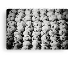 Cookie Army Canvas Print
