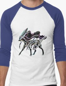Suicune Men's Baseball ¾ T-Shirt