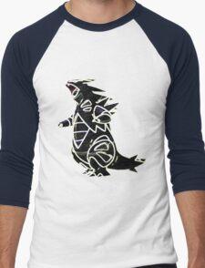 Tyranitar Men's Baseball ¾ T-Shirt