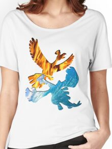 Lugia & Ho-oh Women's Relaxed Fit T-Shirt