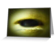 DA Eye Of The Alien Beholder IA Greeting Card