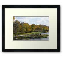holiday in utopia Framed Print