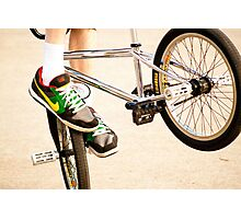 Bike Tricks Photographic Print