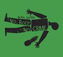 No Body No Crime (Psych) T-Shirt
