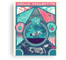 Animal Collective Canvas Print
