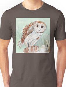 Barn Owl/Nonnetjie-Uil Unisex T-Shirt
