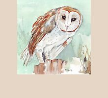 Barn Owl/Nonnetjie-Uil Womens Fitted T-Shirt